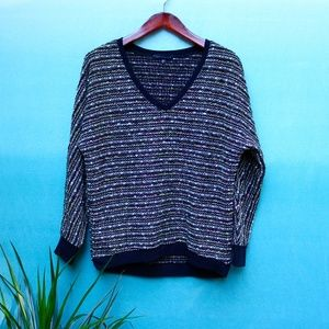 Sanctuary Marled Knit Multicolor Slouchy Sweater